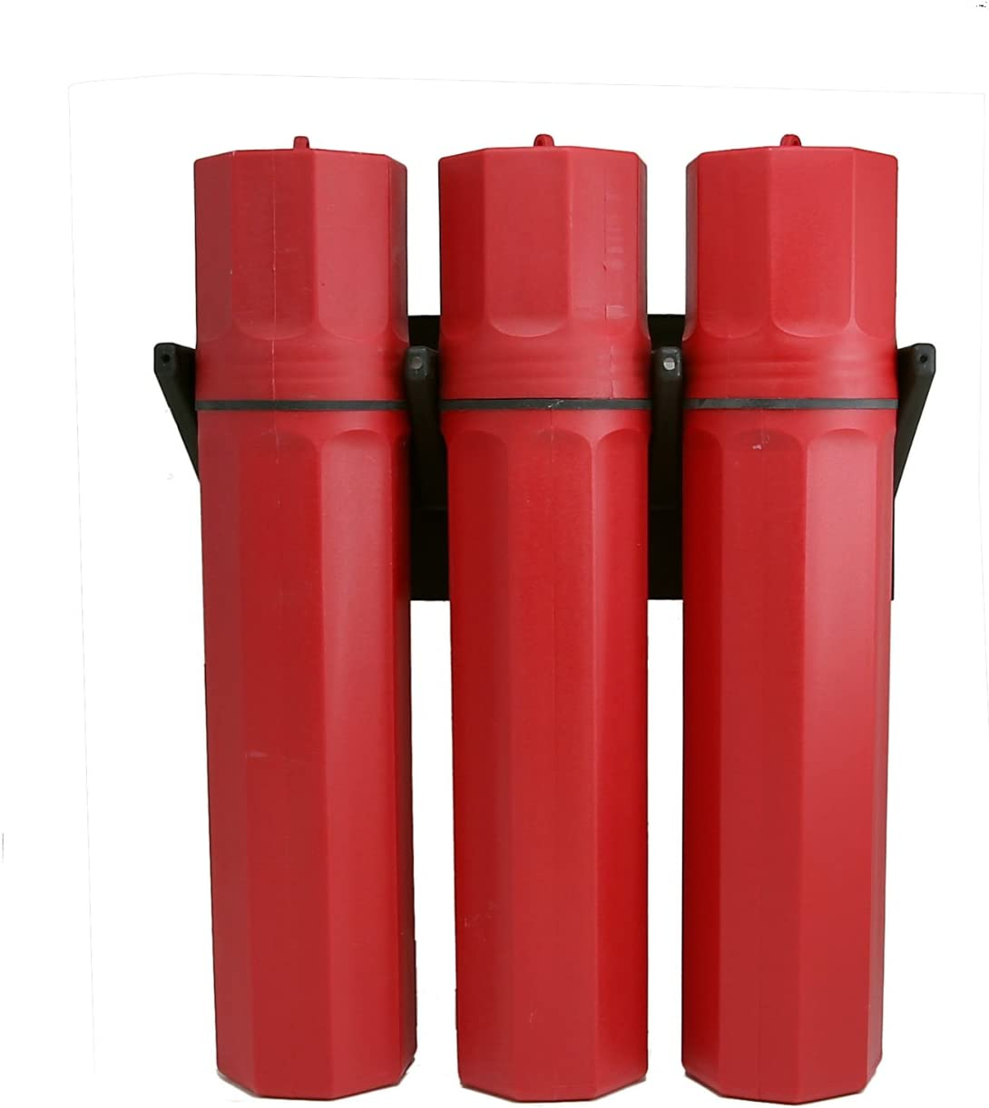 BAC Industries RK-301 Rod Keeper System Red 3-Pack
