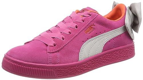 Puma Suede Bow AC PS, Zapatillas para Niñas: Amazon.es: Zapatos y complementos