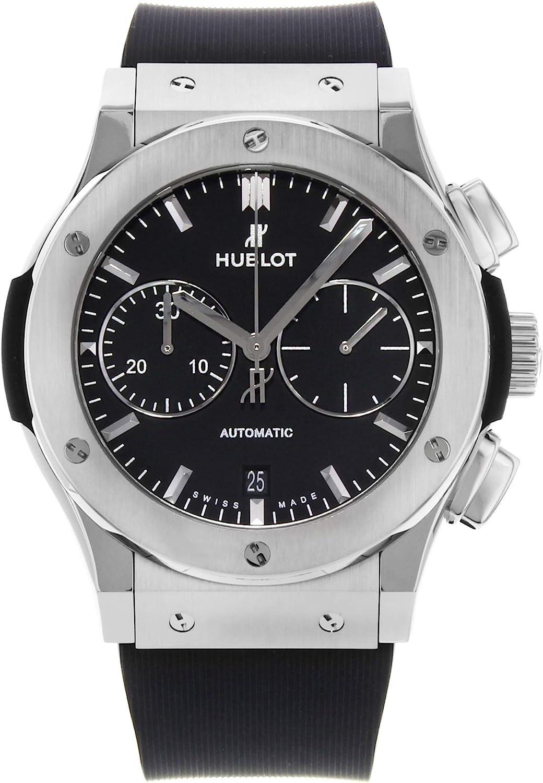 Hublot 521.NX.1171.RX - Reloj automático para hombre (esfera negra), color negro