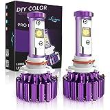 MICTUNING 9005, HB3 Cree LED Headlight Bulbs - 60W 6,000Lm White(6,000K) Plug & Play Conversion Kit - 2 Year Warranty