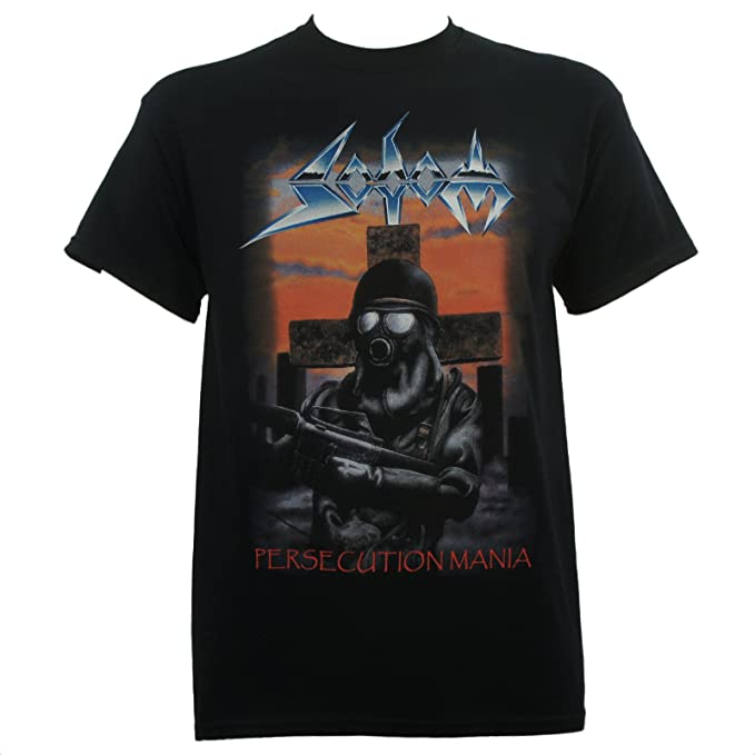 Herrenmode Persecution Mania T-shirt Sodom