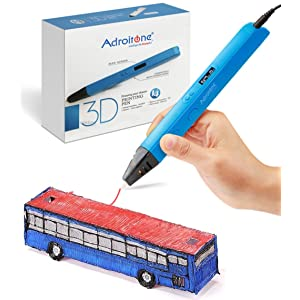 Professional 3D Printing Pen with OLED Display for Doodling Drawing Modeling