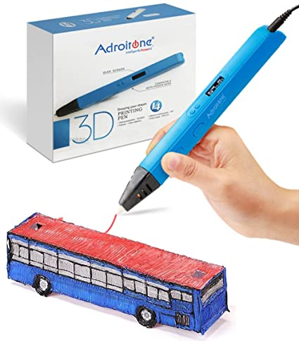 Professional 3D Printing Pen with OLED Display for Doodling Drawing  Modeling -3D Pen Doodle Lightweight