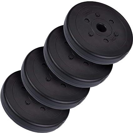 ScSPORTS HS049 - Pesa en forma de disco, 4 unidades de 5 kg