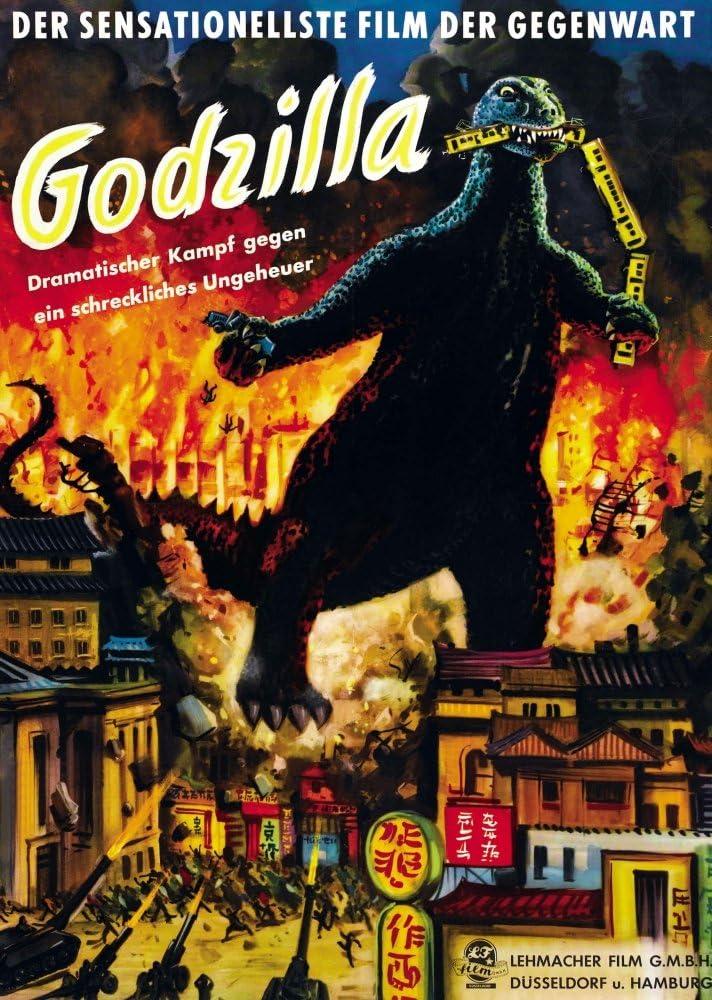 Posterazzi EVCMCDGODZEC056 Godzilla Movie Poster Masterprint, 11 x 17