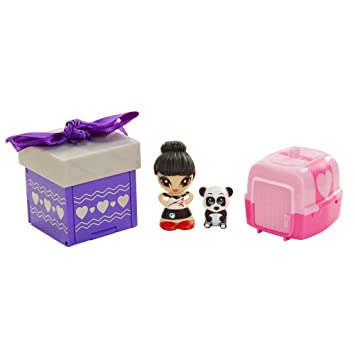 Amazon.com: Gift'ems Doll & Pet 2-pack Series #1 (Assorted): Toys ...