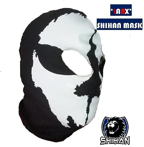 larx 2 agujero, lana Zorro Ninja, disfraz 1 tamaño Senior ...