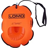 Lomo Hydration Swimming Water Bottle Tow Float - Orange