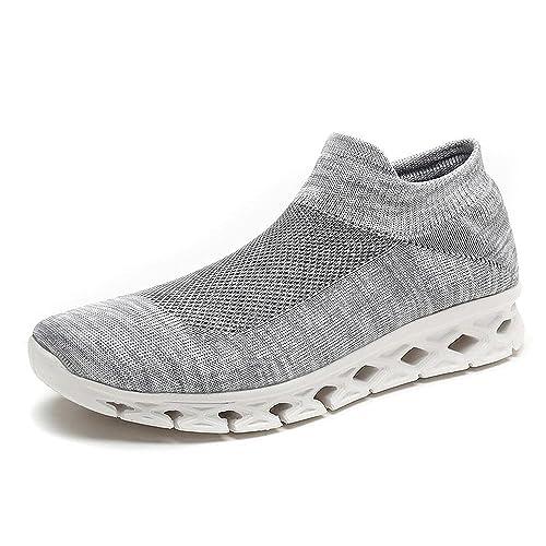 Running Zapatillas Hombres Mujer,Zapatos para Gimnasio Sneakers Fitness Casual Caminar Respirables Ocasionales Calcetines Zapatillas Deportivas: Amazon.es: ...