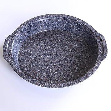 SKYyao Bandejas para hornos,Antiadherente redondo torta molde hornear hornear placa utensilios de horno 26cm: Amazon.es: Hogar