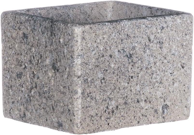 3 Sullivans Speckle Grey Cement Rectangular Planter