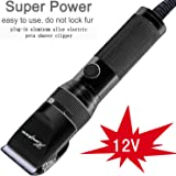 Hansprou Dog Shaver Clippers High Power Dog Clipper for Thick Heavy Coats Low Noise Plug-in Pet Trimmer Pet Professional Groo