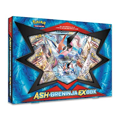 Pokemon TCG: Ash-Greninja-EX Box: Toys & Games