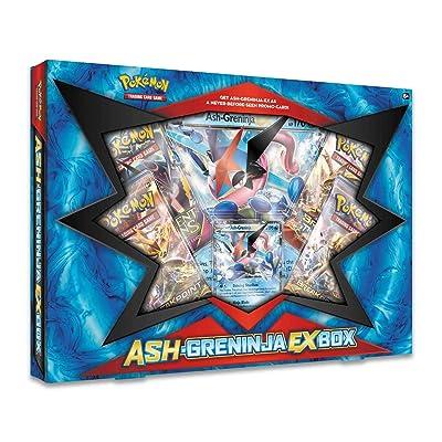 Pokemon TCG: Ash-Greninja-EX Box: Toys & Games