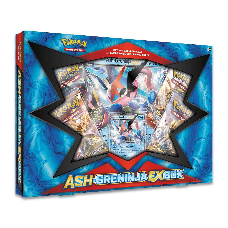 Pokèmon Ash-Greninja-EX Box Englisch