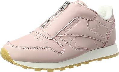 Hay una necesidad de lanzamiento tengo sueño  Reebok Classic Leather Zip, Zapatillas para Mujer: Amazon.es: Zapatos y  complementos