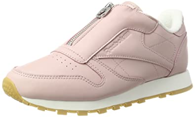 8c3b3f4e1ea Reebok Women  s Classic Leather Zip Trainers  Amazon.co.uk  Shoes   Bags