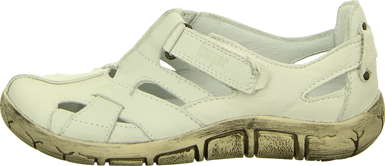 Kacper 2-2374 Sandalette Slipper Damenschuh Leder Flechtstruktur Gepolstert  Weiß, Größe 37: Amazon.de: Schuhe & Handtaschen