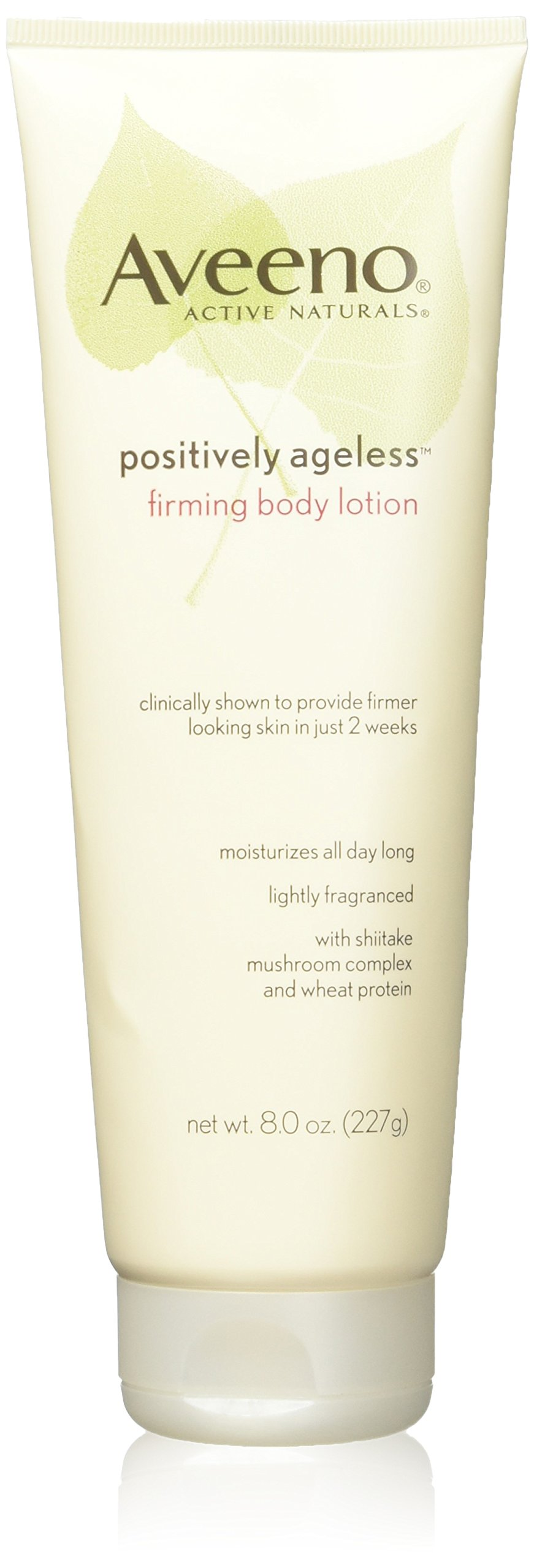 Aveeno Active Naturals - Positively Ageless Firming Body Lotion - Firmer Looking Skin In Just 2 Weeks - Net Wt. 8 OZ (227 g) Each - Pack of 3 by Aveeno