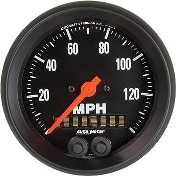 225Km//H Speedometer GPS Auto Meter AutoMeter 4780-M Gauge 3 3//8 Carbon Fiber 3 3//8