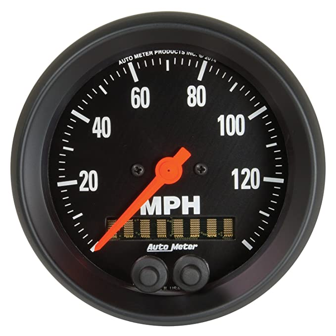 0-160 MPH, 85.7mm Auto Meter 2688 Z-Series 3-3//8 Electric Speedometer
