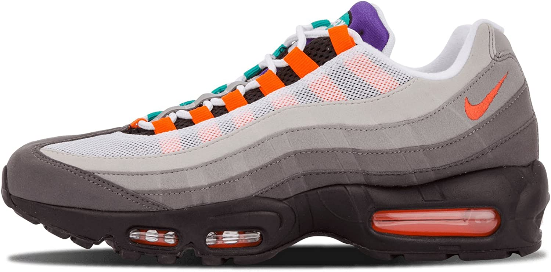Nike Air MAX 95 Greedy OG QS 2015 - Black/Safety Orange/Volt Trainer Size 40: Amazon.es: Zapatos y complementos