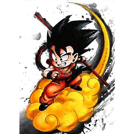 Fabulous Poster Cartel Goku Nube Mágica Kinto Manga De ...