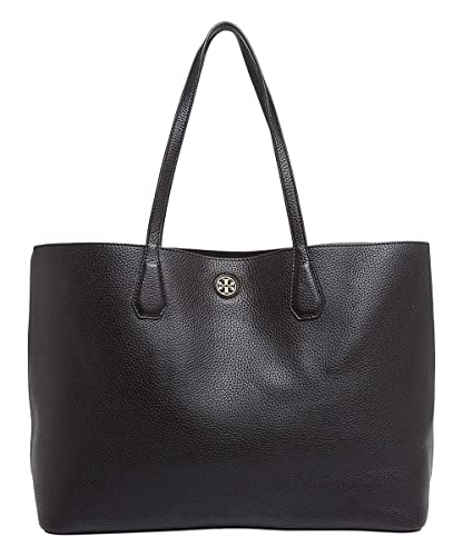 c4398b5e3bdb Tory Burch 49122 Black Beige Brody Women s Tote Bag  Handbags  Amazon.com