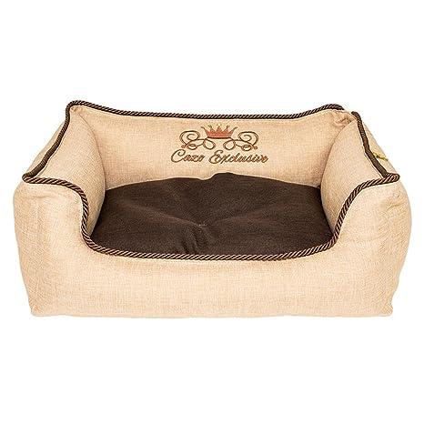 Cama para perros Perros sofá cama de lujo cojín Perros y Gatos Perros cesta 75 x