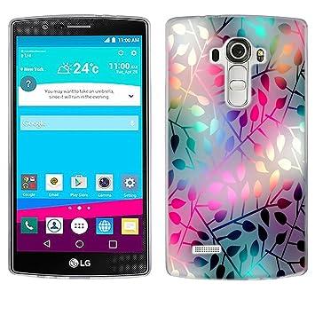 Funda LG G4, Fubaoda [vetro traslucido] Silicona Fundas para ...