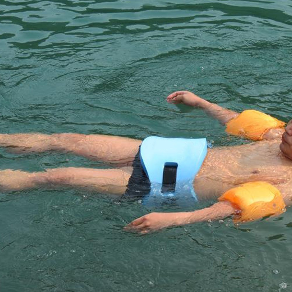 firelong espuma cintura cinturón para la enseñanza tren de natación flotador nadar cintura apto para niños y adultos - Azul: Amazon.es: Deportes y aire ...