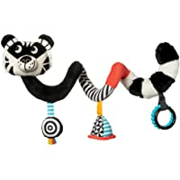 Manhattan Toy Wimmer Ferguson Tiger Spiral Crib and Travel Toy for Baby with Rattle, Discovery Mirror and Teethers