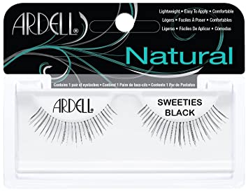 ab00efcfe68 Amazon.com : Ardell Fashion Lashes Pair - Sweeties Black (Pack of 4) : Fake  Eyelashes And Adhesives : Beauty