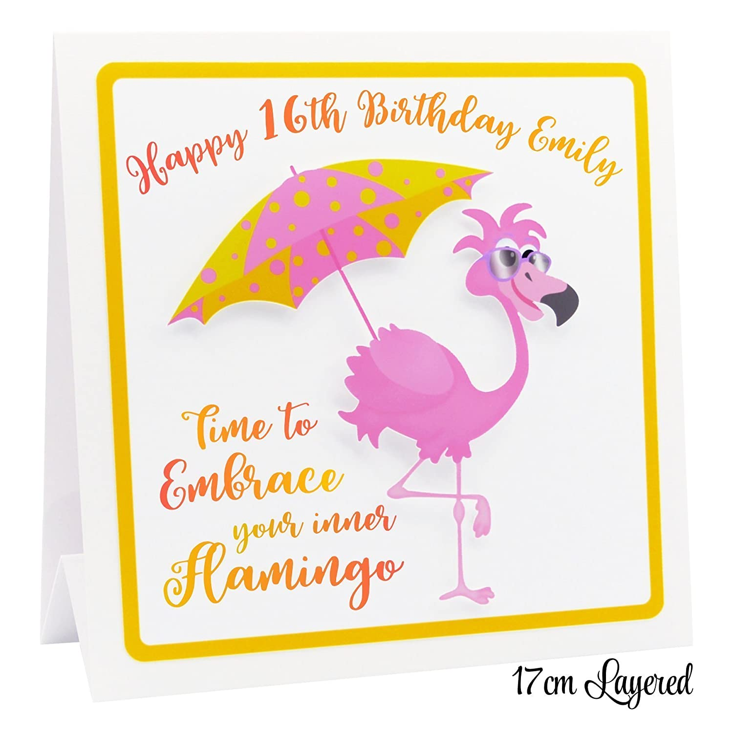 personalised funny birthday card d choice of quotes daughter mum
