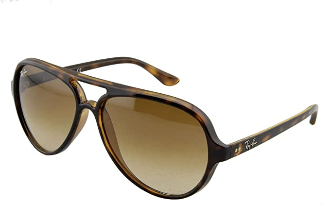 896f51b0ba173f Amazon.com  Ray-Ban Cats 5000 Aviator, Light Havana, 59mm  Ray-Ban ...