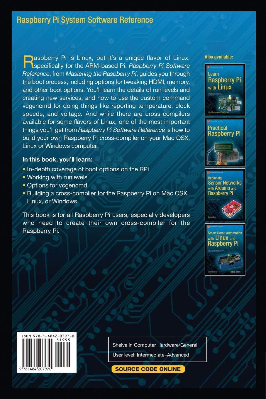 Raspberry Pi System Software Reference: Amazon in: Warren