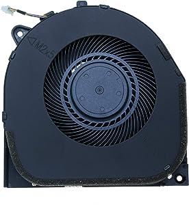 DREZUR GPU VGA Cooling Fan Compatible for Le Legion Y7000 Y530 Gaming Laptop Cooler DC28000DKF0 DFS200105BR0T FKPX (GPU Fan)