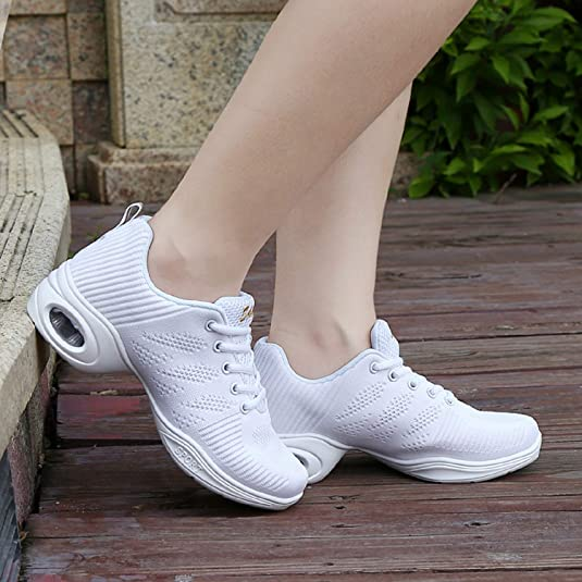 6f4365ad348d9a AONEGOLD Chaussures de Sport Danse Femme Moderne Jazz Latin Standard  Détente Sneakers Baskets: Amazon.fr: Chaussures et Sacs