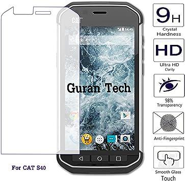 Guran® Protector de Pantalla Cristal Templado Vidrio Premium para Cat S40 Smartphone: Amazon.es: Electrónica