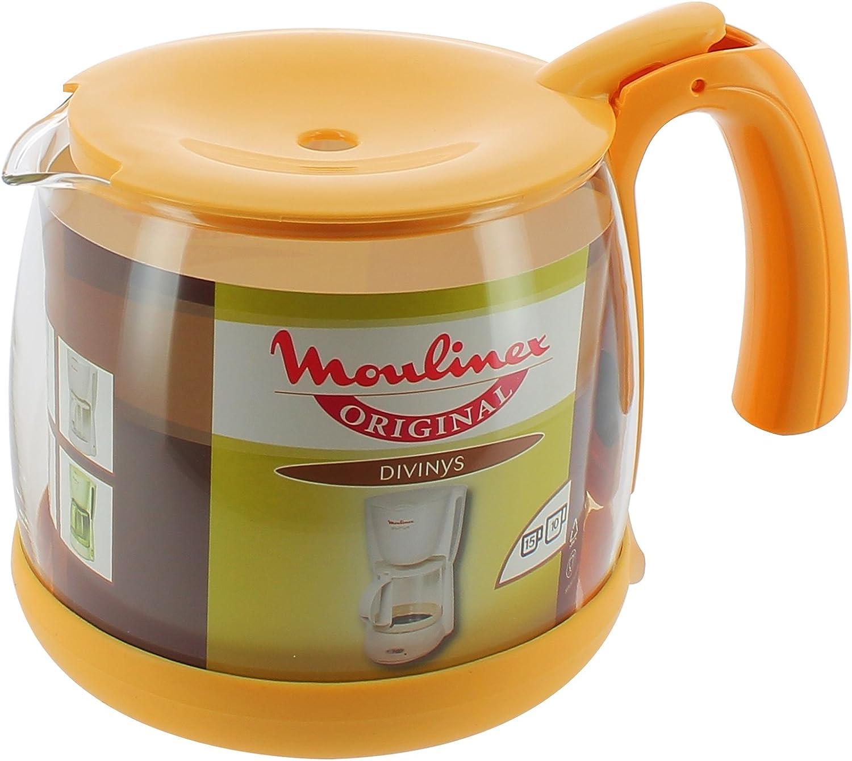 Moulinex A15B0E Divinys amarillo 15-taza cafetera: Amazon.es: Hogar