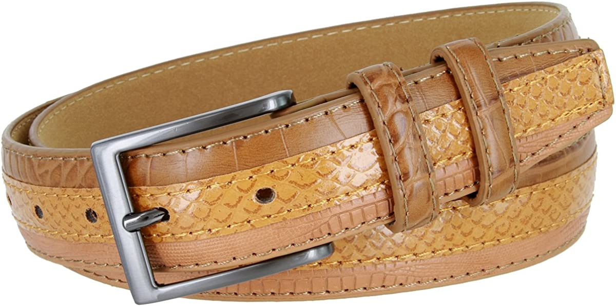 Genuine Leather Belt With...