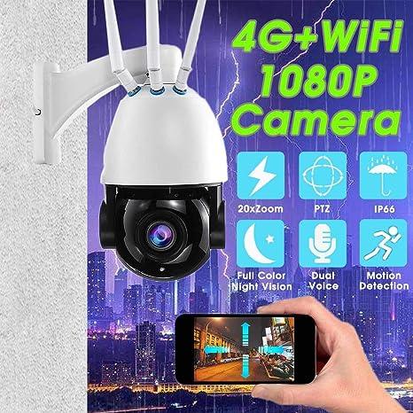 Camaras De Vigilancia Cámara 4G WiFi Cámara Delación De La ...