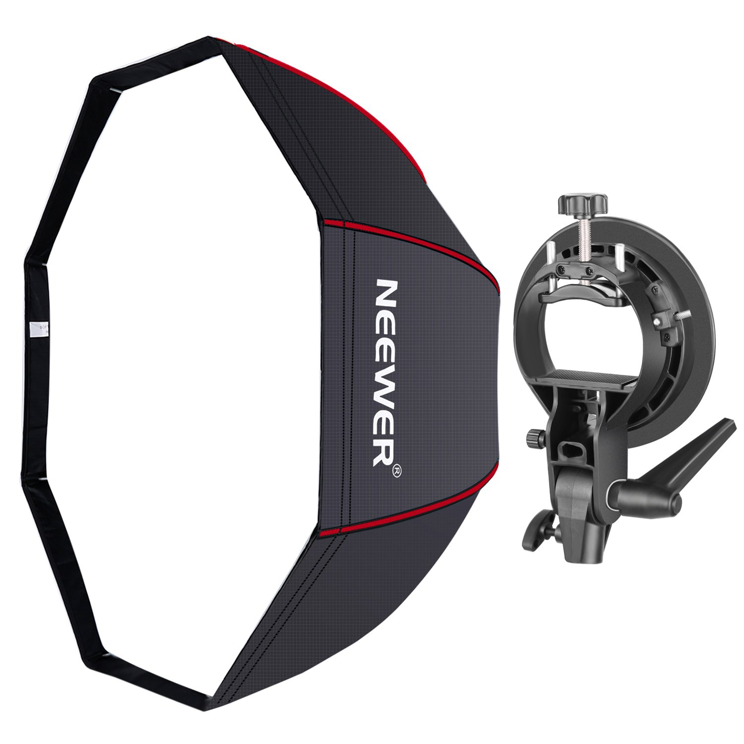 Neewer 48 Inches/120 Centimeters Octagonal Softbox With Red