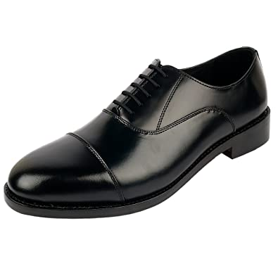 DLT Men s Genuine Imported Leather with Leather Sole Goodyear Welted Oxford Dress  Shoes (8.0 559cd501f37