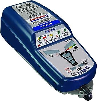 Chargeur Optimate 6 12V 5A  pour batterie acide STD AGM et GEL automatique