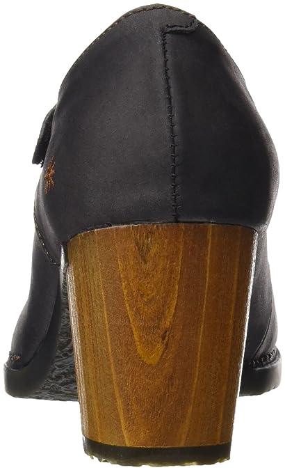 Art 0410 Olio Salzburg, Zapatos de Tacón con Punta Cerrada para Mujer, Negro (Black), 40 EU Art