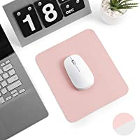 Levoit Mouse Pad 23x20cm, Small PU Leather Mouse Mat, Double-Sided Use Desktop Mousepad, Smooth Waterproof Surface for…