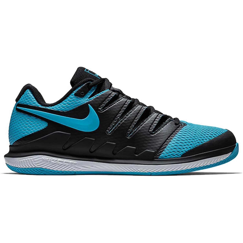 nike zoom vapor x chaussures hommes (9,5 / d nous, noir / (9,5 gamma bleu / blanc) b80406