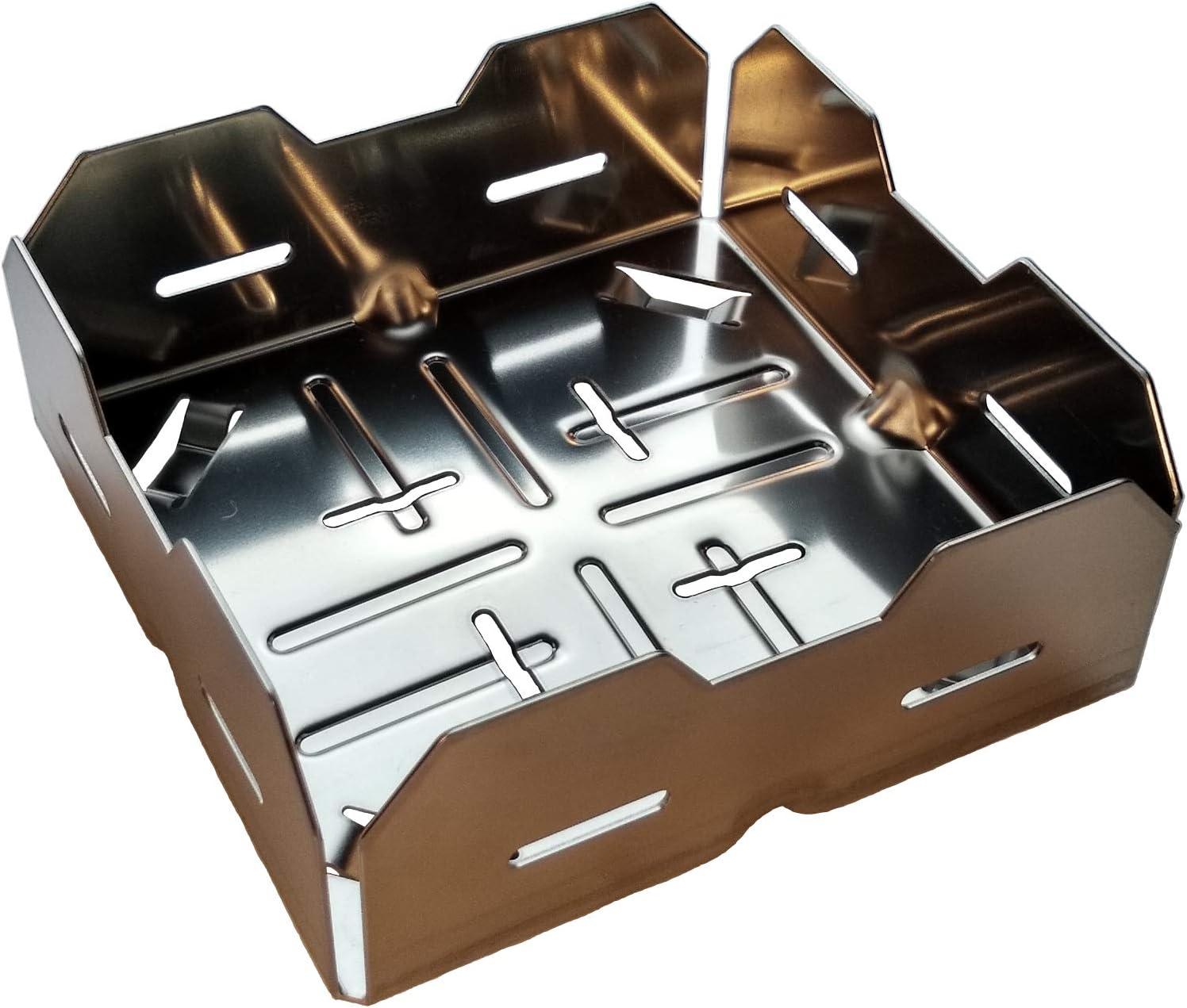Chimenea de anzünd cesta: El turbo de pellet cesta para su chimenea Horno. encender con madera pel Lets Armario astillas. con apilables ayuda. Generación 4.0(1pieza)