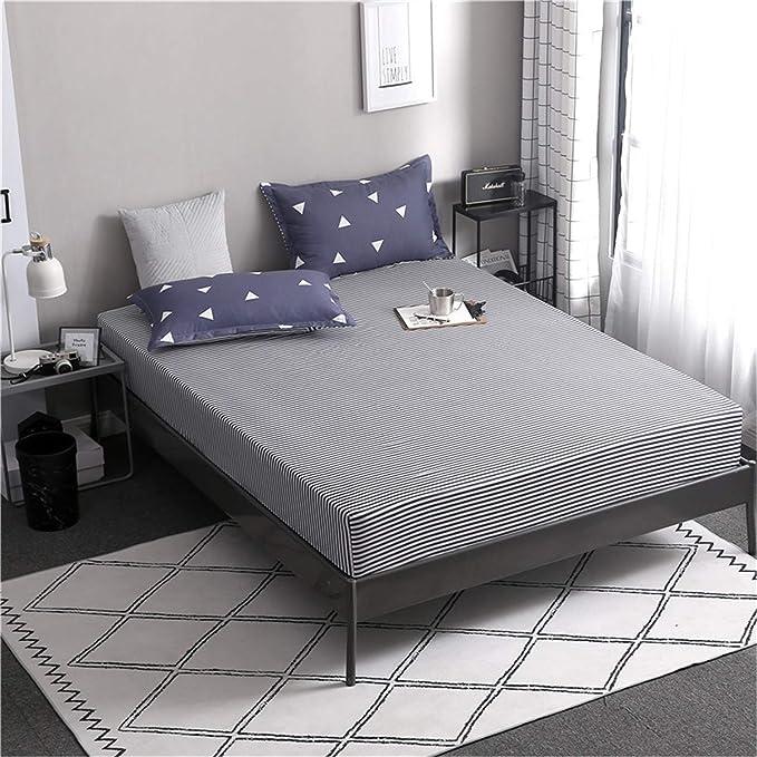 CHLCH Protector de colchón/Cubre colchón Acolchado ...